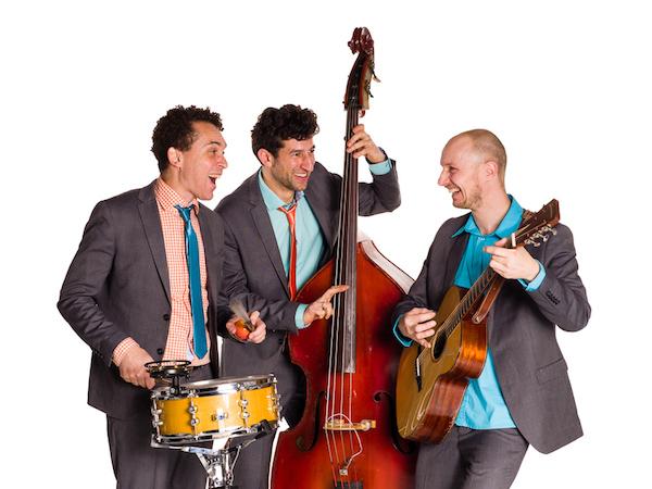 Akoestisch trio Moon About | foto Edwin van Wijk