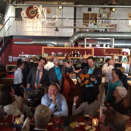 akoestische live muziek in het restaurant Hotel New York Rotterdam